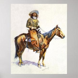 Arizona Cowboy Remington Print