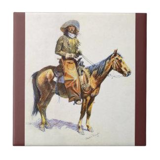 Arizona Cowboy Remington Tile