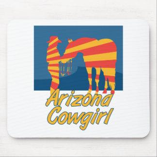 Arizona CowGirl Mouse Pad