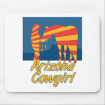 Arizona CowGirl Mouse Pads