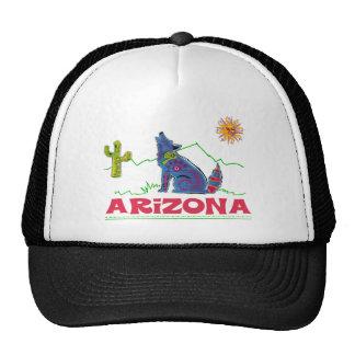 Arizona Coyote Howl Trucker Hat