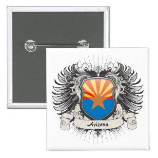 Arizona Crest Pinback Button
