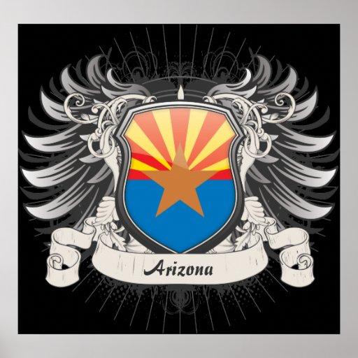 Arizona Crest Poster