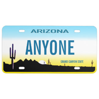 Arizona Custom License Plate