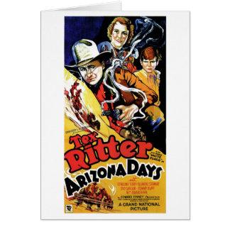 Arizona Days Card