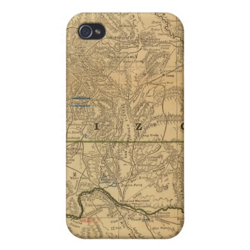 Arizona de McNally del rand iPhone 4/4S Carcasas