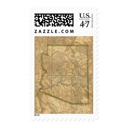 Arizona de McNally del rand Timbre Postal