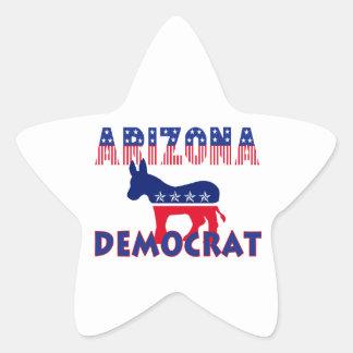 Arizona Democrat Star Sticker