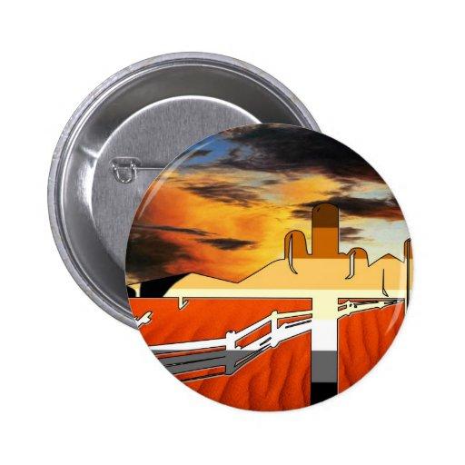 Arizona Desert Bear Pride Pinback Button