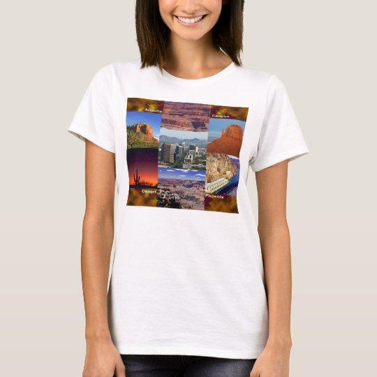 Arizona Desert Collage T-Shirt