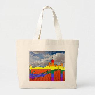 Arizona Desert GLBT Pride Large Tote Bag