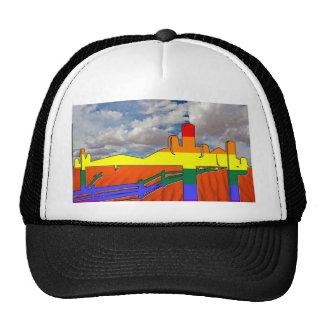 Arizona Desert GLBT Pride Trucker Hat