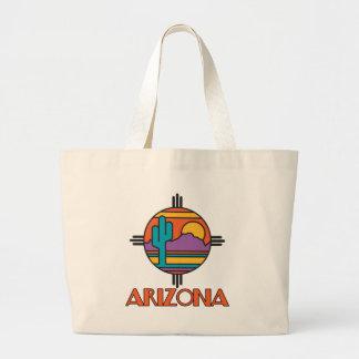 Arizona Desert Mandala Jumbo Tote Bag