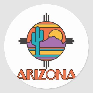 Arizona Desert Mandala Sticker