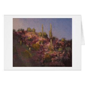 Arizona Desert Note Card