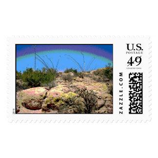 Arizona Desert Postage Stamps