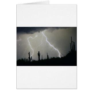Arizona Desert Storm Card