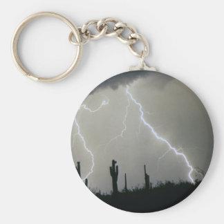 Arizona Desert Storm Keychain