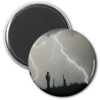 Arizona Desert Storm Magnet