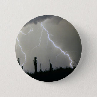 Arizona Desert Storm Pinback Button