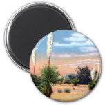 Arizona Desert Yucca Plant Refrigerator Magnet