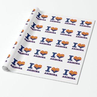 Arizona design gift wrapping paper