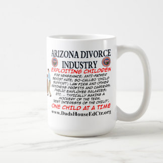 Arizona Divorce Industry. Mug