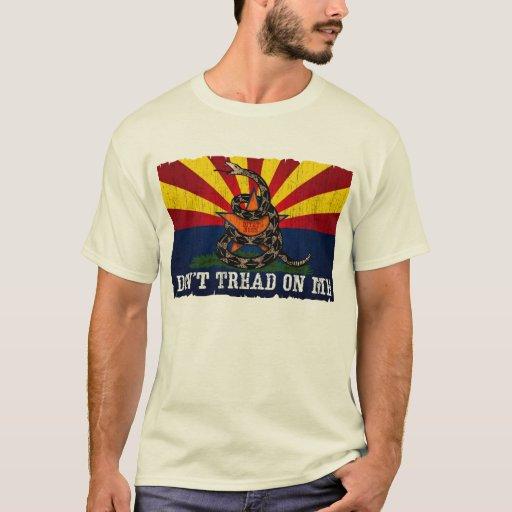 Arizona: Don't Tread on Me (Vintage) T-Shirt
