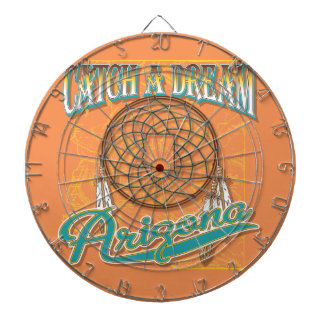 Arizona Dream Catcher Dartboard With Darts