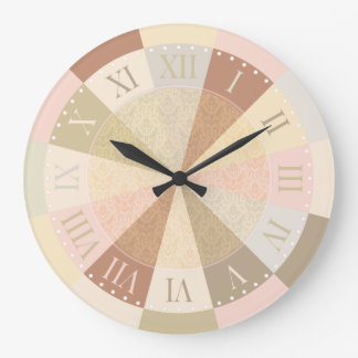 Arizona Dreaming Soft Desert Southwest Colors Large Clock