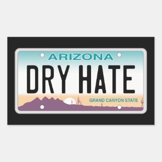 Arizona Dry Hate Sticker