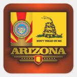 Arizona (DTOM) Calcomanía Cuadrada