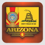 Arizona (DTOM) Pegatina Cuadrada