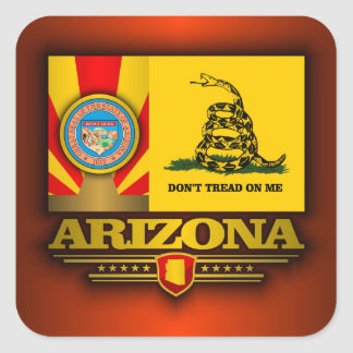 Arizona (DTOM) Square Sticker