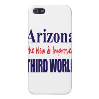 Arizona el TERCER mundo nuevo y mejorado iPhone 5 Cárcasas