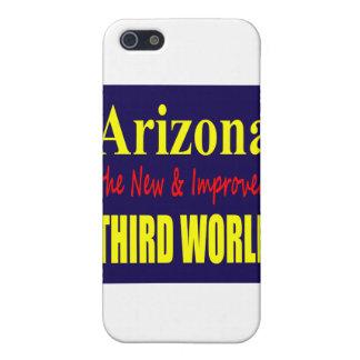 Arizona el TERCER mundo nuevo y mejorado iPhone 5 Fundas