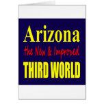 Arizona el TERCER mundo nuevo y mejorado Tarjeta