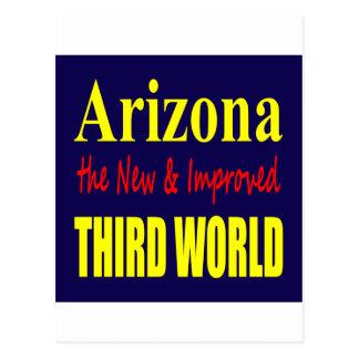 Arizona el TERCER mundo nuevo y mejorado Tarjeta Postal