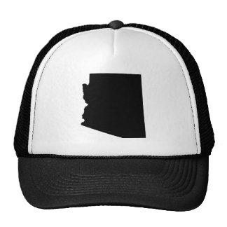 Arizona en negro gorros
