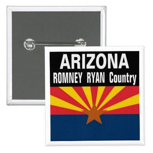 ARIZONA es botón del país de Romney Ryan