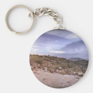 Arizona escénico llavero redondo tipo pin