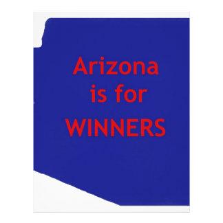 Arizona está para los ganadores membretes personalizados