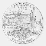 Arizona Etiqueta Redonda