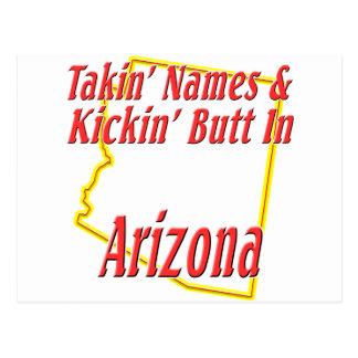 Arizona - extremo de Kickin Tarjetas Postales