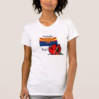 Arizona Firefighters Rock  T-Shirt
