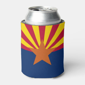 Arizona flag, American state flag Can Cooler