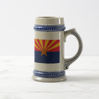 ARIZONA FLAG BEER STEIN