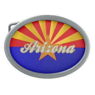 Arizona Flag Belt Buckle