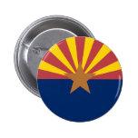 Arizona Flag Button