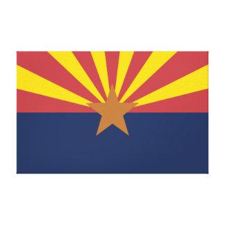 Arizona Flag Canvas Print